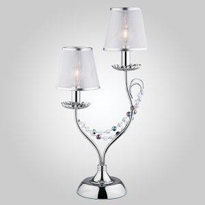 Настольная лампа 01069/2 хром