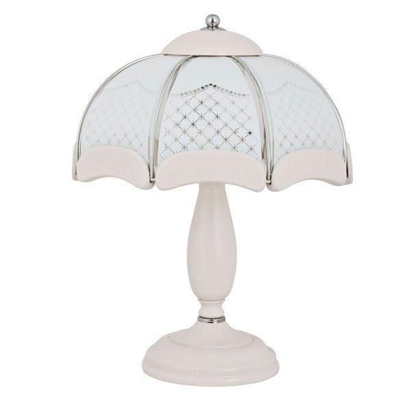 Настольная лампа 20078 Italia Bianko