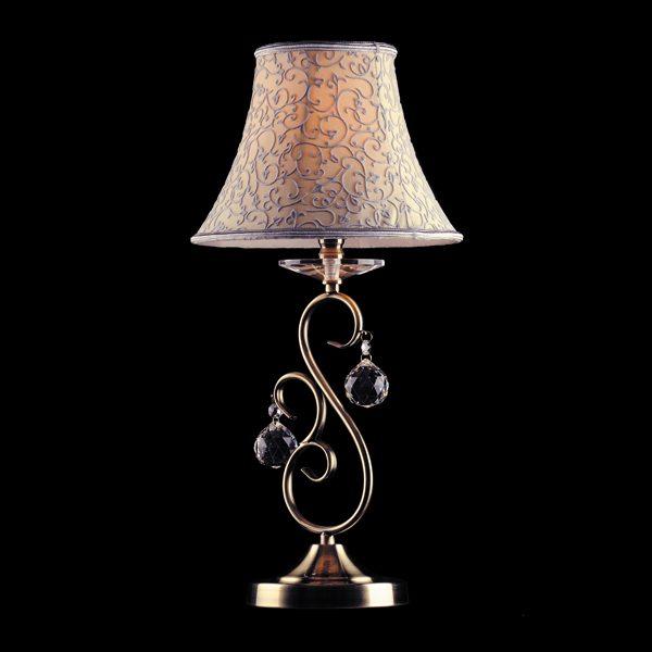 Настольная лампа 3294/1T античная бронза Strotskis
