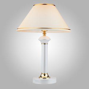 Настольная лампа 60019/1 глянцевый белый