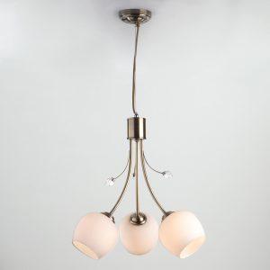 Подвесной светильник 30123/3 античная бронза