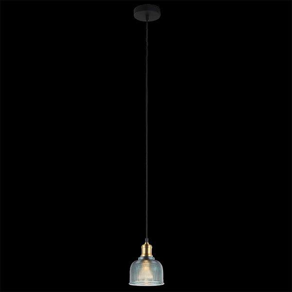 Подвесной светильник 50028/1 голубой