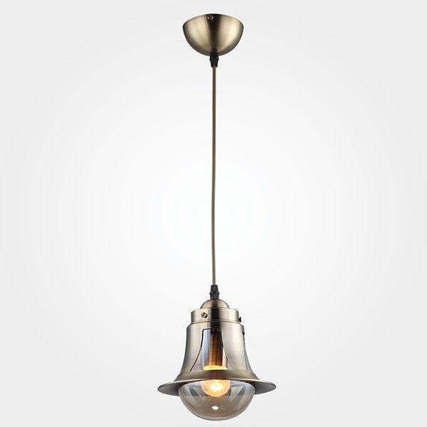 Подвесной светильник 50055/1 античная бронза