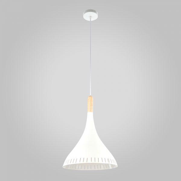 Подвесной светильник 50074/1 белый/светлое дерево