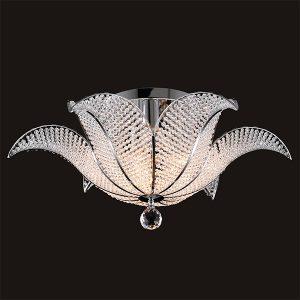 Потолочная люстра с хрусталем 10051/6 хром