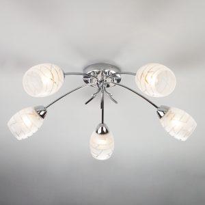 Потолочный светильник 30127/5 хром