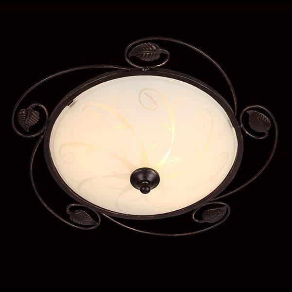Потолочный светильник 40001/2 венге