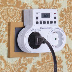 Розетка-таймер Elektrostandard TMH-E-5