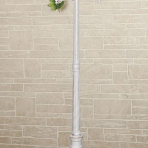 Светильник на столбе Elektrostandard Capella F/3 белое золото