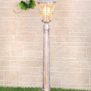 Светильник на столбе Elektrostandard Diadema F (GLYF-8046F) белое золото