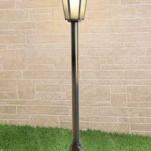 Светильник на столбе Elektrostandard GL 1014F черное золото