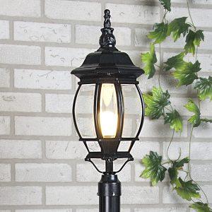 Светильник на столб Elektrostandard 1043 черный
