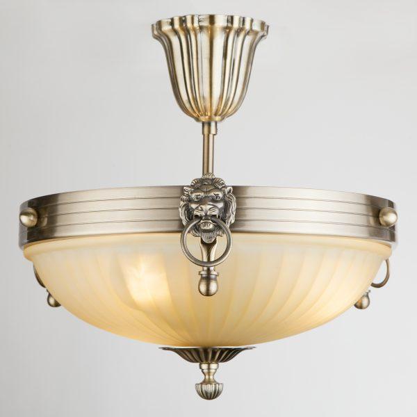 Светильник потолочный 89247/3 античная бронза
