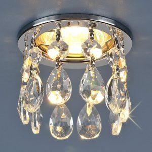 Хрустальные точечные светильники. Оптовая продажа светильников.