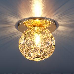 Светильник точечный Elektrostandard 1002 G9 GD золото