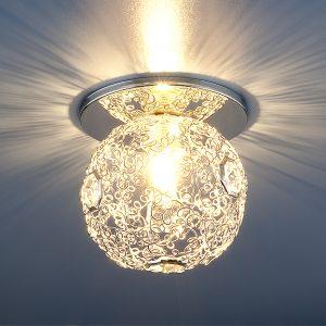 Светильник точечный Elektrostandard 1002 G9 SL серебро