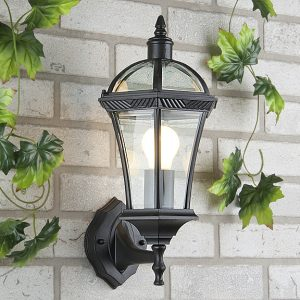 Светильник уличный настенный Elektrostandard Capella черный