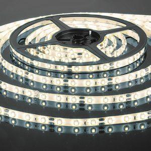 Светодиодная лента Elektrostandard 3528/60 LED 4.8W IP65 [белая подложка] белый свет