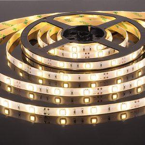 Светодиодная лента Elektrostandard 5050/30 LED 7.2W IP65 [белая подложка] теплый белый свет