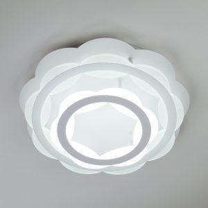 Светодиодная люстра с регулируемой температурой света и яркости 90076/2 белый