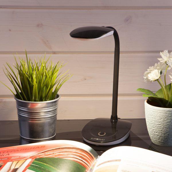 Светодиодная настольная лампа 90191/24 черный