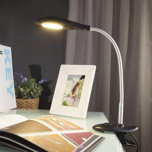 Светодиодная настольная лампа 90198/1 черный