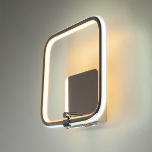 Светодиодный настенный светильник 90067/1 хром