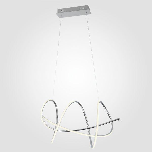 Светодиодный подвесной светильник 90033/1 хром