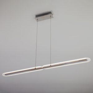 Светодиодный подвесной светильник 90073/2 хром