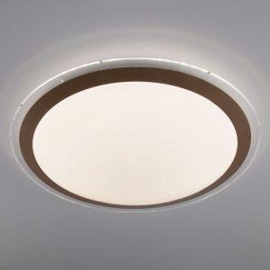 Светодиодный потолочный светильник 40004/1 LED матовое золото