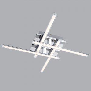 Светодиодный потолочный светильник 90019/4 хром