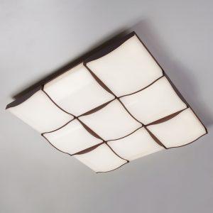 Светодиодный потолочный светильник 90031/9 / потолочный светильник кофе