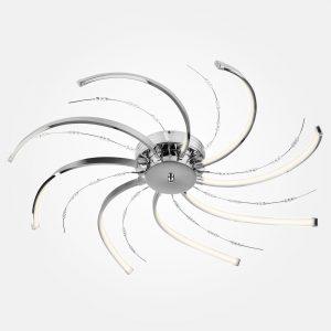 Светодиодный потолочный светильник 90054/8 хром