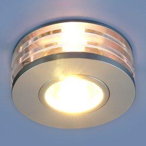 Точечный светильник из алюминия Elektrostandard 5005 MR16 CH хром