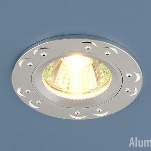 Точечный светильник из алюминия Elektrostandard 5805 MR16 SS сатин серебро