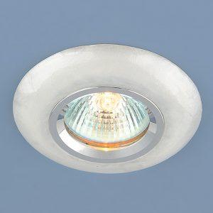 Точечный светильник из искусственного камня Elektrostandard 6061 MR16 WH белый