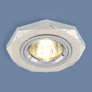 Точечный светильник поворотный Elektrostandard 2040 MR16 SL серебро