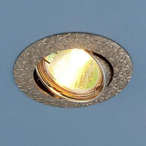 Точечный светильник поворотный Elektrostandard 625 MR16 SN сатин никель