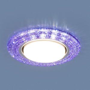 Точечный светильник со светодиодами Elektrostandard 3030 GX53 VL фиолетовый