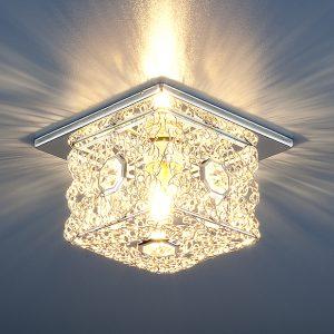 Точечный светильник Elektrostandard 1003 G9 SL серебро