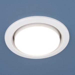 Точечный светильник Elektrostandard 1035 GX53 WH белый
