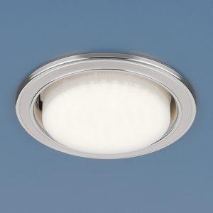 Точечный светильник Elektrostandard 1036 GX53 WH/SL белый/серебро