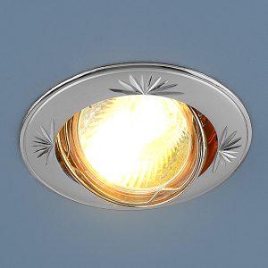 Точечный светильник Elektrostandard 104A MR16 PS/N перл. серебро/никель