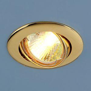 Точечный светильник Elektrostandard 104S MR16 GD золото
