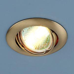 Точечный светильник Elektrostandard 104S MR16 SB бронза