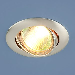 Точечный светильник Elektrostandard 104S MR16 SS сатин серебро