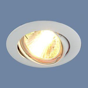 Точечный светильник Elektrostandard 104S MR16 WH белый