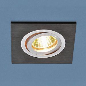 Точечный светильник Elektrostandard 1051/1 BK черный