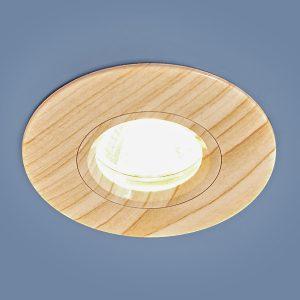 Точечный светильник Elektrostandard 108 MR16 BG беленый дуб