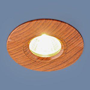 Точечный светильник Elektrostandard 108 MR16 BR дуб